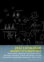 2012 CATALOGUE - Plymouth University
