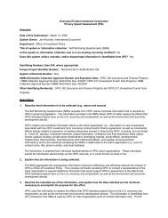 Self Monitoring Questionnaire - Overseas Private Investment ...