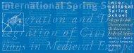 Flyer ISS 08 - Integration und Desintegration der Kulturen im ...