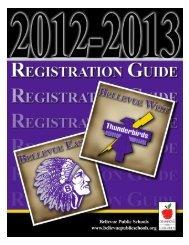 2012-2013 School Year - Bellevue Public Schools