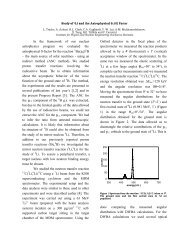 Study of 8 Li and the Astrophysical S 17 (0) Factor - Cyclotron Institute