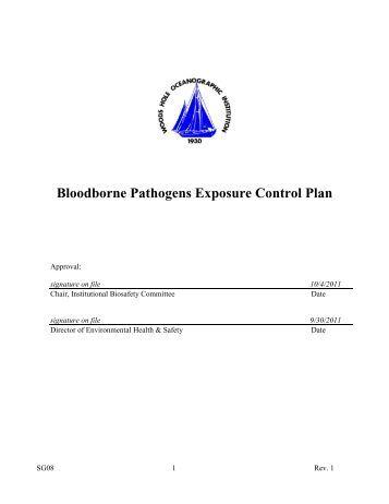Bloodborne pathogens post test suffolk remsco for Bloodborne pathogens policy template