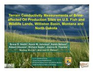 Terrain Conductivity Measurements of Brineaffected Oil Production ...