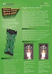 Engine Booster Diesel 10-11 lr - EUPHORIA TECHNOLOGY