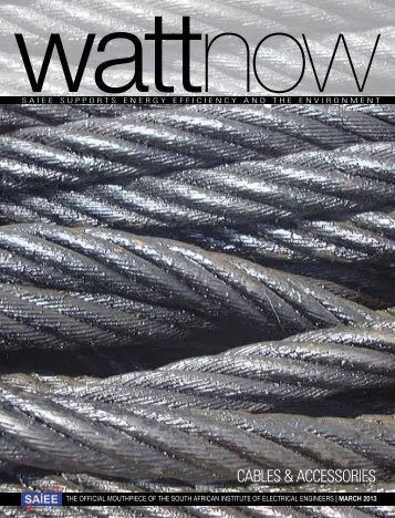 download a PDF of the full March 2013 issue - Watt Now Magazine
