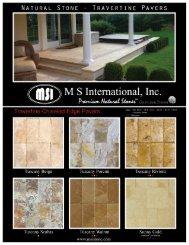 2011 Pavers Flyer.pdf - MSI Stone