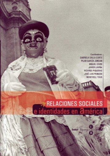 Relaciones sociales e identidades en América