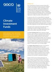 Climate Investment Funds - Gender Climate