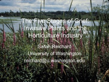 The Five Stages of Grief: Invasive Plants and the ... - Cal-IPC