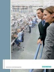 Boosting energy efficiency with SIRIUS controls - Siemens
