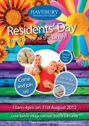 Free Fun for all the family! - Havebury Housing Partnership