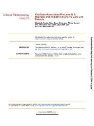 Ventilator-Associated Pneumonia in Neonatal and Pediatric ...