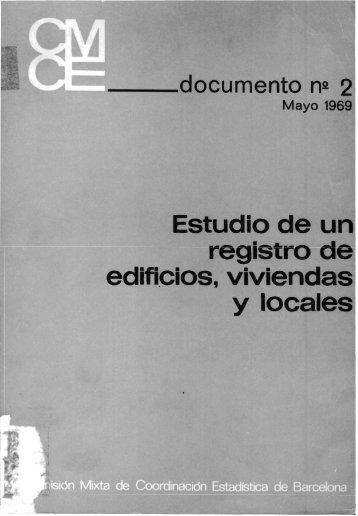 1 - Institut d'Estadística de Catalunya (IDESCAT)