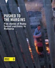 Five stories of Roma forced evictions in Romania - Amnesty ...