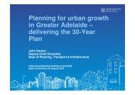 delivering the 30-Year Plan - UDIASA - Urban Development Institute ...