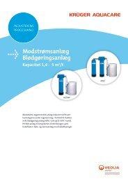 Kapacitet 1,4-5 m 3 /t (PDF) - Krüger A/S