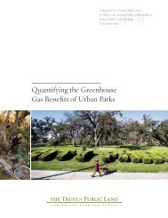 Quantifying the Greenhouse Gas Benefits of Urban Parks - Green LA ...