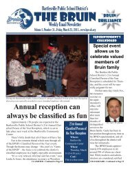 The Bruin (Vol. 5, Issue 31).indd - Bartlesville Public Schools