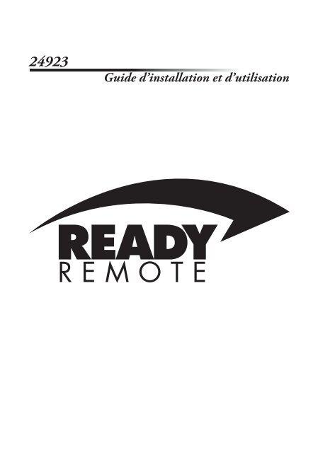 Guide d'installation et d'utilisation - Ready Remote