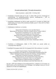 Status Report No. 1 2001 - Øresundsvandsamarbejdet