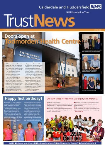 Todmorden Health Centre - Calderdale and Huddersfield NHS ...