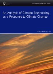 An Analysis of Climate Engineering as a Response to Climate Change