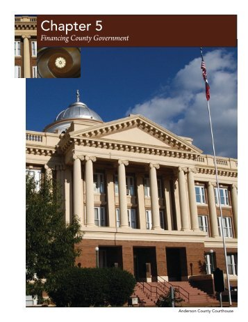 Financing County Government - Texas Association of Counties