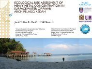 Ecological Risk Assessment Of Heavy Metal Concentration In ...