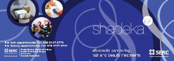 Hair and Beauty - Shadeka Salon - Price List