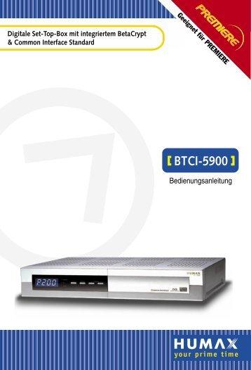 BTCI-5900 - AHG-Electronic