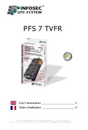 PFS 7 TVFR - Infosec