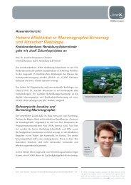 Höhere Effektivität in Mammographie-Screening und ... - visus