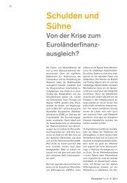 Schulden und Sühne — Von der Krise zum ... - PerspektivePraxis.de