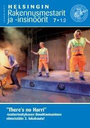 Yhdistyksen jäsenlehti 7/12, PDF tiedosto - Helsingin ...