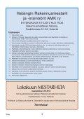Yhdistyksen jäsenlehti 7/12, PDF tiedosto - Helsingin ... - Page 3