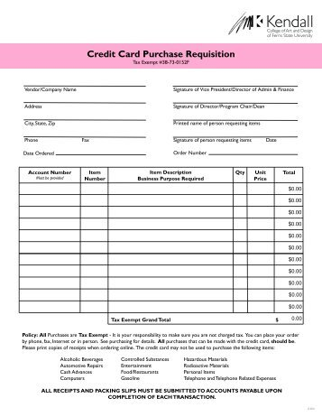 Purchase Requisition Approval Instructions