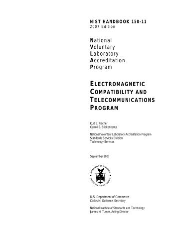 nist handbook 150-11 - National Institute of Standards and Technology