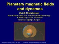 Planetary magnetic fields and dynamos