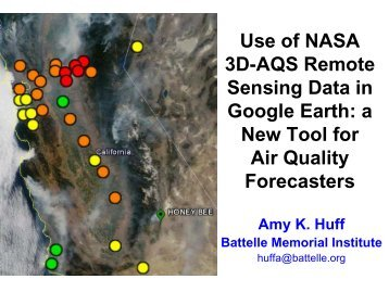 Visualizing Near Real-Time Satellite Products and Air Quality Data ...