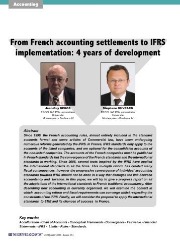 french accounting French accountant and tax services  once a year with greffe de tribunal de commerce and the french tax authorities  be prepared by a registered accounting .