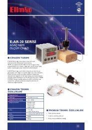 E-AR-20 Serisi Ağaç Nemi Ölçüm Cihazı - Elimko