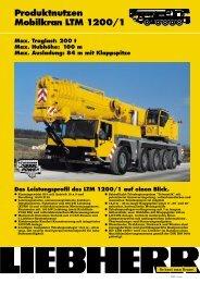 Produktnutzen Mobilkran LTM 1200/1