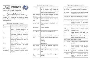 Cartao Linux - IFSC