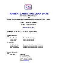 TRANSATLANTIC NUCLEAR DAYS