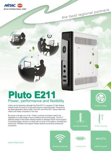 Pluto E211 - Mitac
