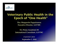 One Health - Association of American Veterinary Medical Colleges