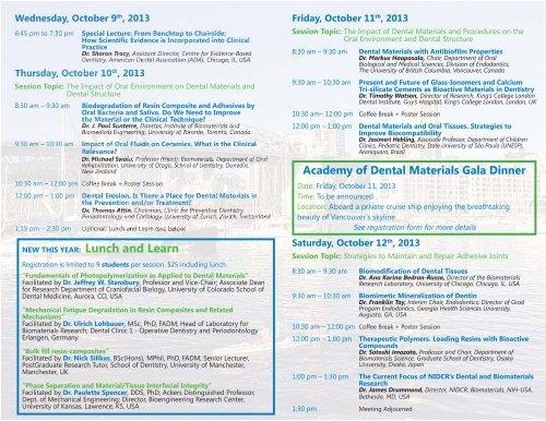 Brochure WEB.indd - Academy of Dental Materials