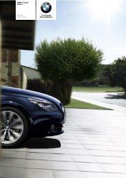 The BMW 5 Series 550i Saloon - Vines