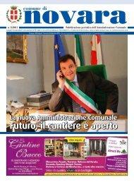 Futuro, il cantiere è aperto - Comune di Novara