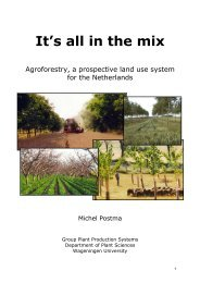 It's all in the mix - INRA Montpellier